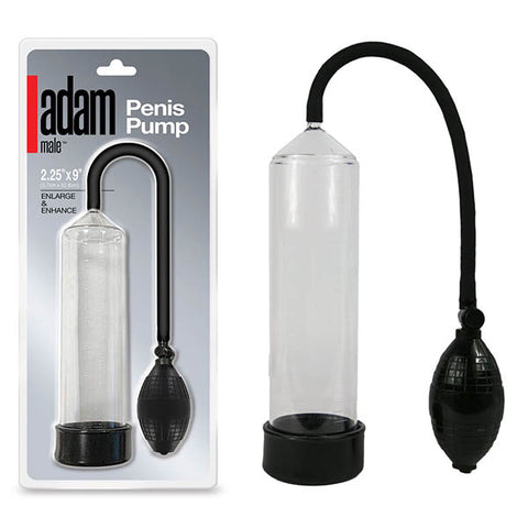 Adam Male Toys Penis Pump - Clear Penis Pump