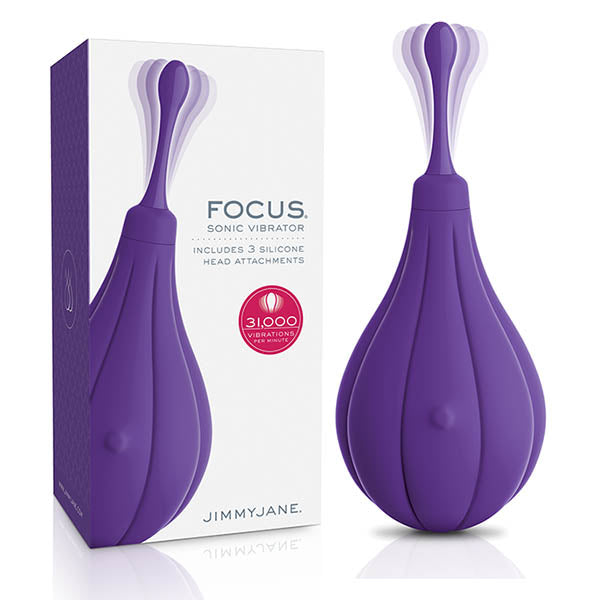 JimmyJane Focus - Purple USB Rechargeable Sonic Clitoral Stimulator