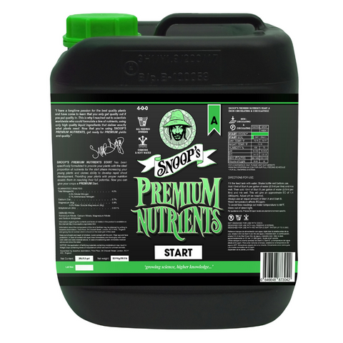 Snoop's Premium Nutrients Start A 4 - 0 - 0