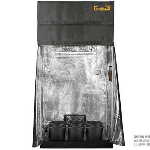 SuperRoom Smart 2′ x 4′ Grow Tent Package - Closet Grows