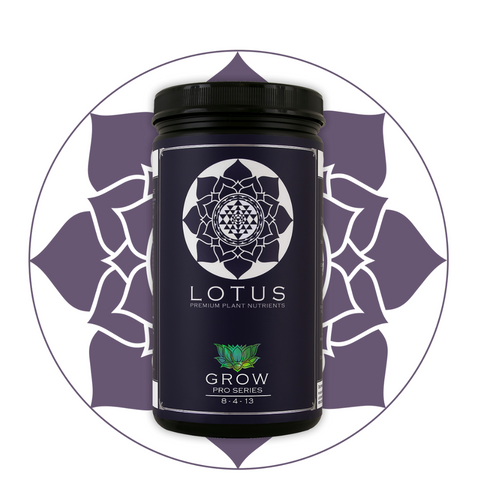 Lotus Nutrients Grow Pro Series - Closet Grows
