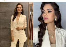 Esha Gupta wearing Bodements Ensemble - 3rd July, 2019