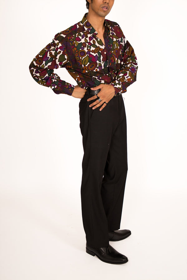 '90s Jewel Toned Printed Unisex Shirt