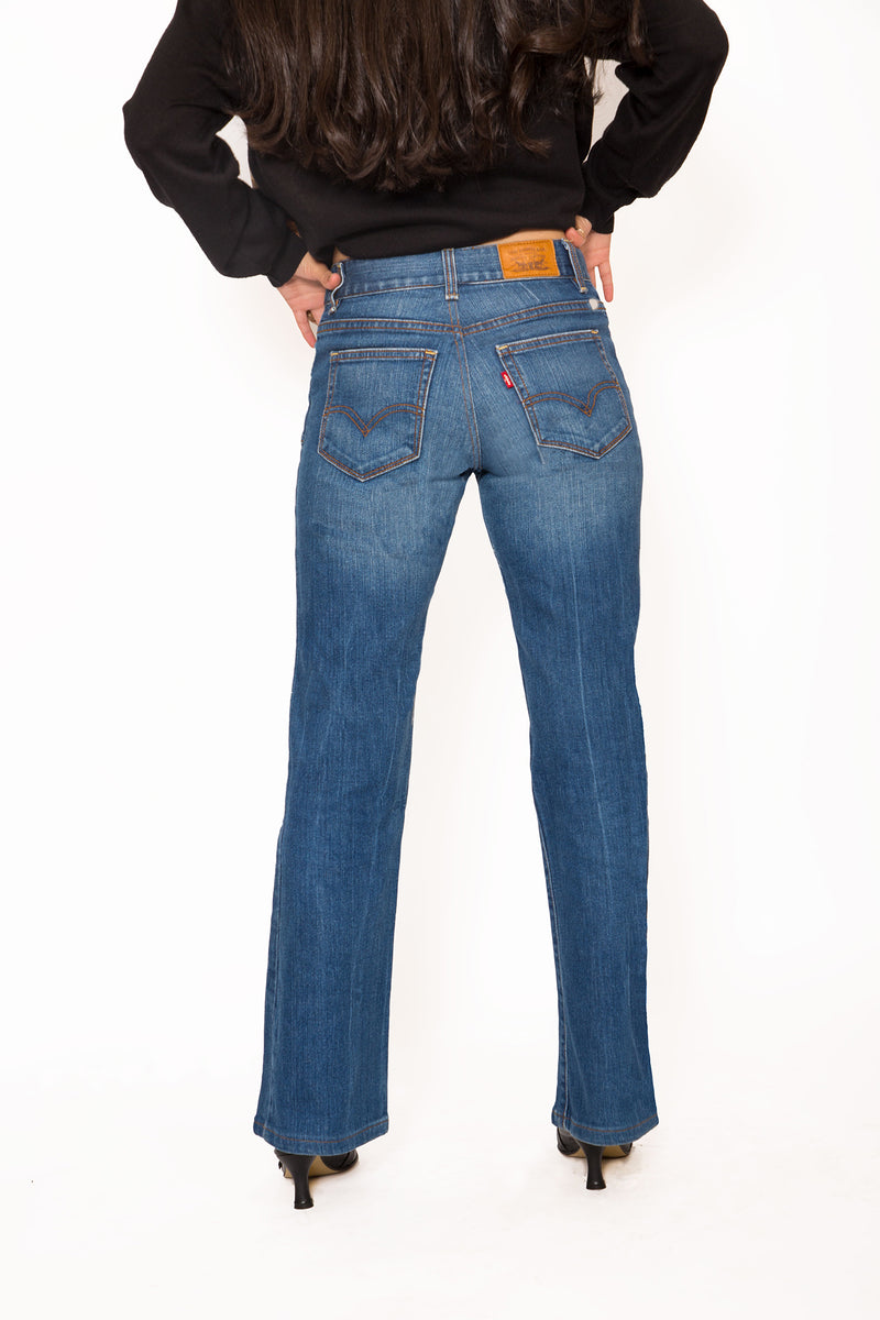 Buy Vintage Tapered High Waist Levi's Jeans for woman on Bodements.com