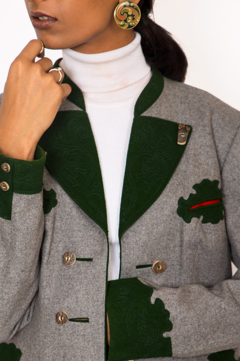 Buy Vintage Austrian Trachten Jacket for Woman on Bodements.com