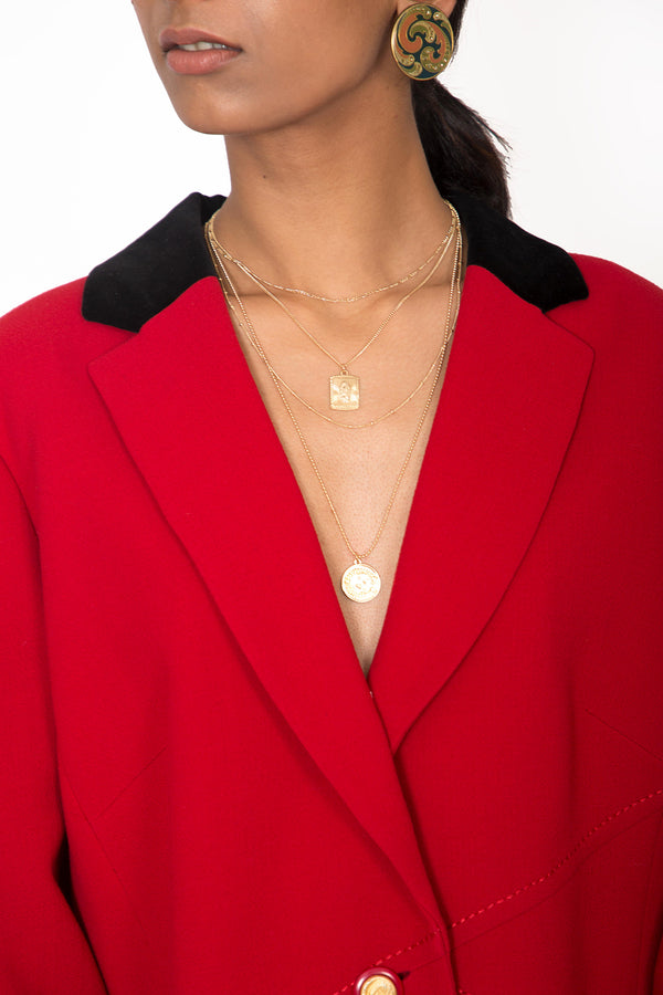 Buy Vintage Designer Weill Red Jacket for woman on Bodements.com