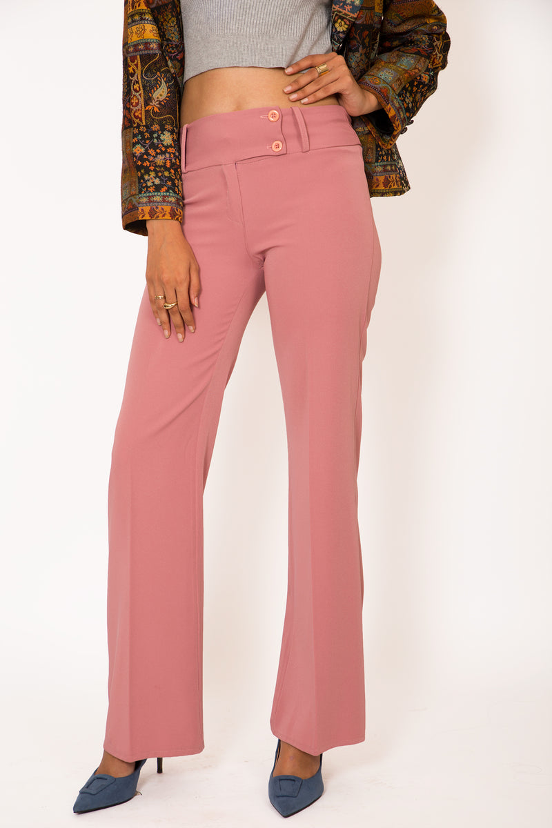 Buy Vintage '70s Flamingo Pink Pants woman on Bodements.com