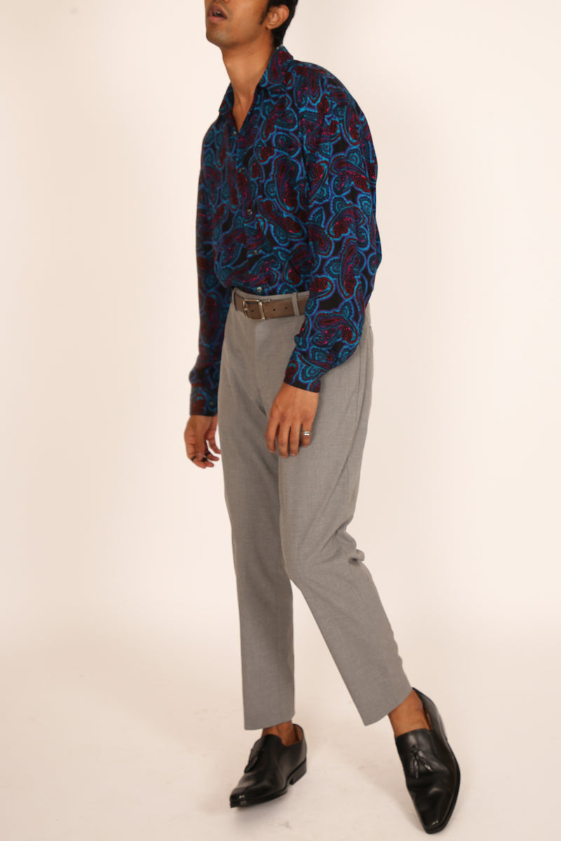 '80 Psychedelic Paisley Shirt