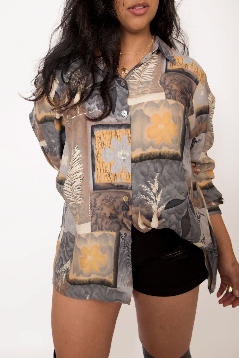 Buy Vintage '80s Unisex Printed Shirt on Bodements.com