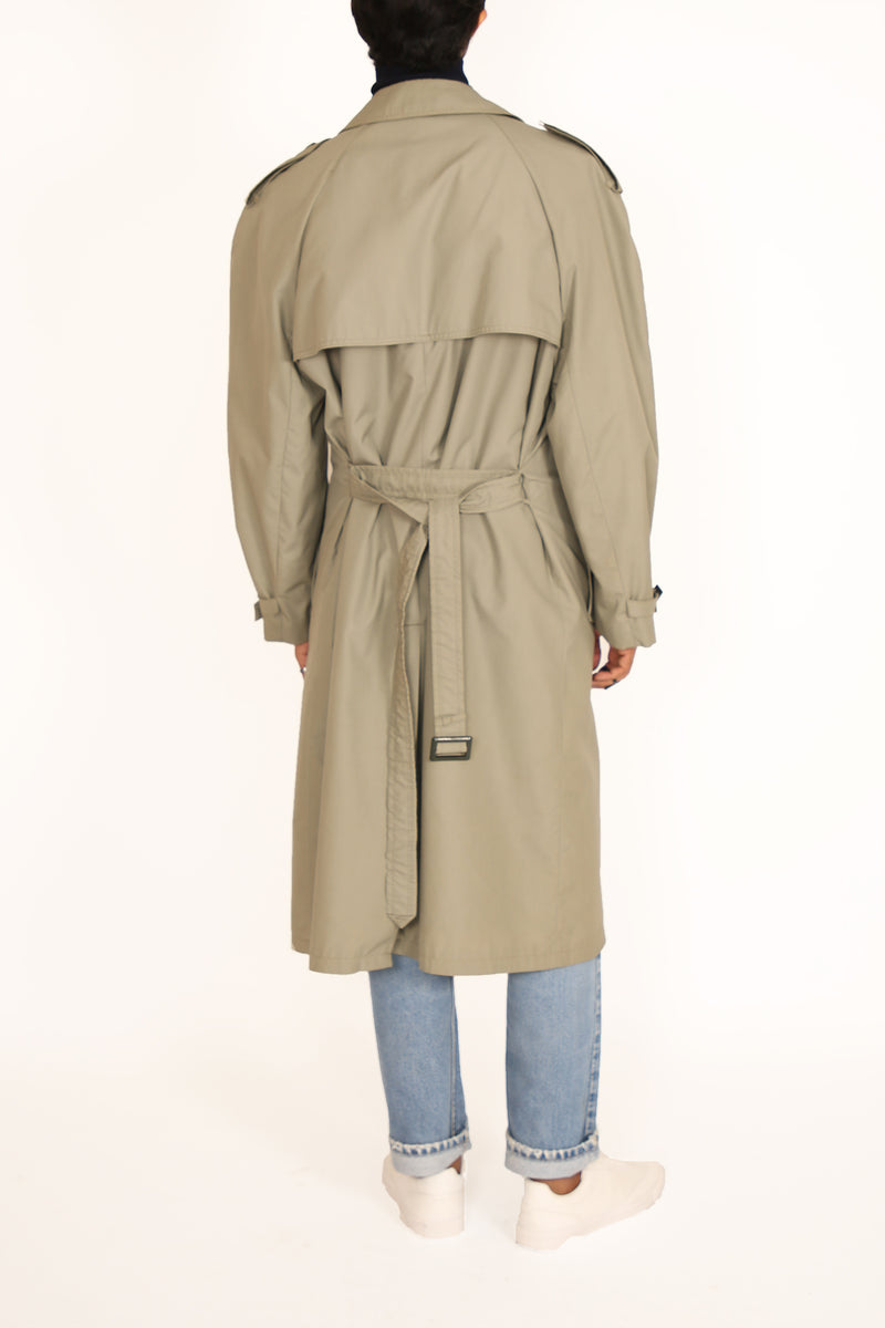 Buy Vintage '90s Unisex Double Breasted Trench Coat on Bodements.com