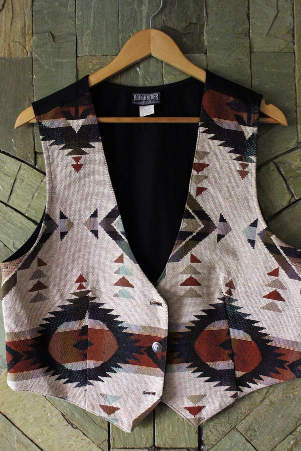 Buy Vintage Unisex Mexican Vest on Bodements.com