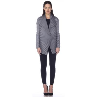 Classic Crinkle Jacket - Gray