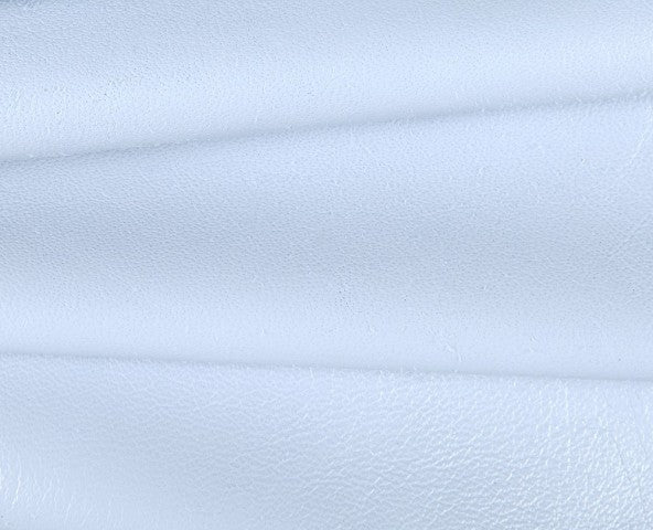 white caprice nappa lambskin leather