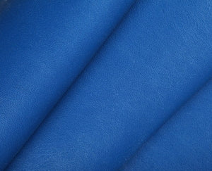 royal blue nappa lambskin leather