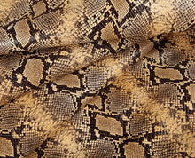 Load image into Gallery viewer, brown africa embossed calf leather hide