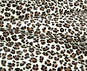 Hair On Printed Baby Leopard