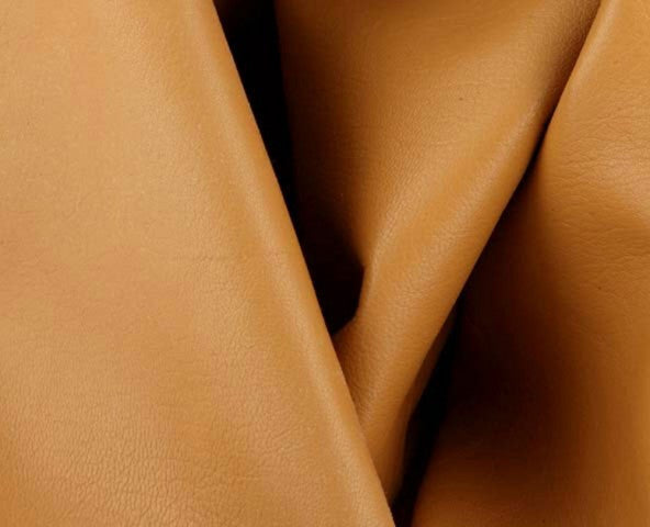 honey caprice nappa lambskin leather