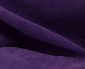 purple calf suede