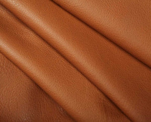 tan full grain cowhide leather