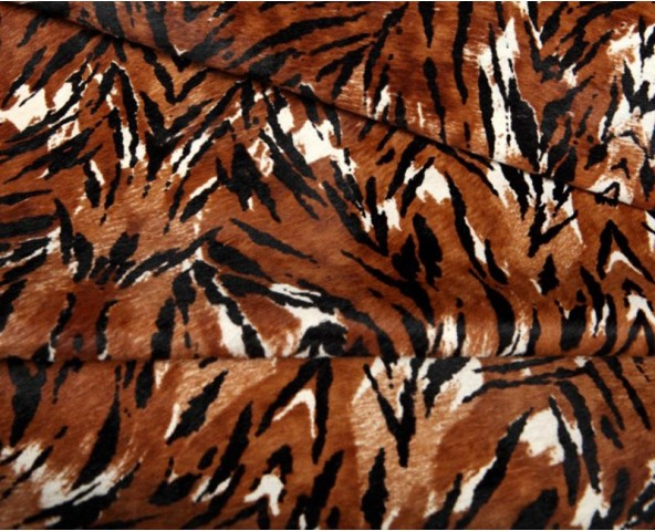Hair On Printed Tiger
