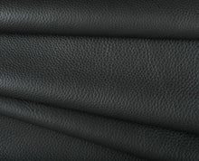 Load image into Gallery viewer, black buffalo full grain cowhide leather