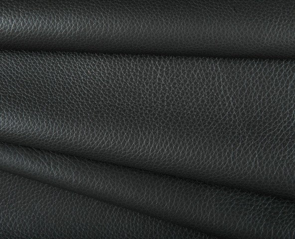 black buffalo full grain cowhide leather