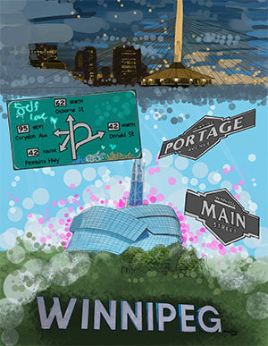 Love Letter To Winnipeg Activity Book