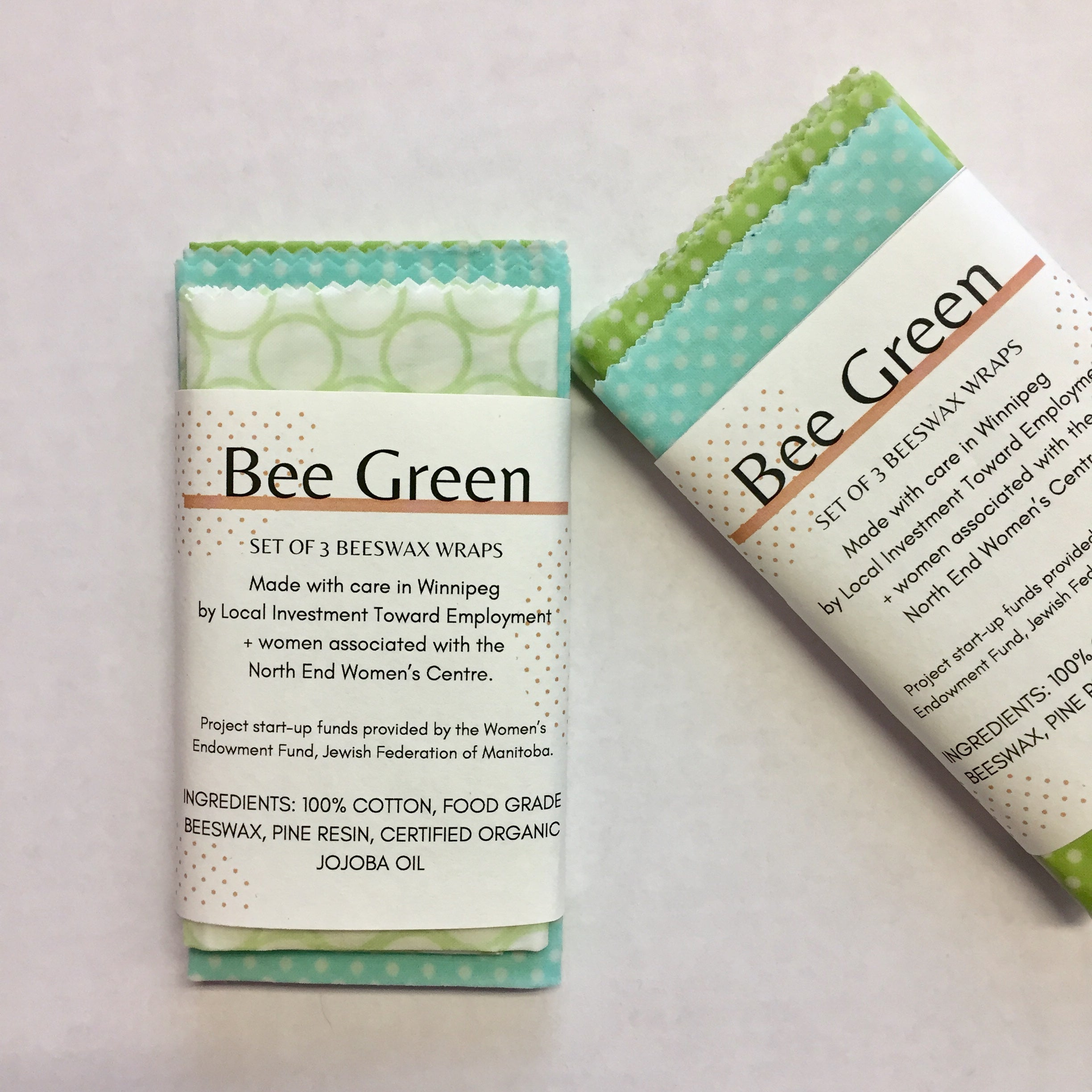 Bee Green Beeswax Wraps