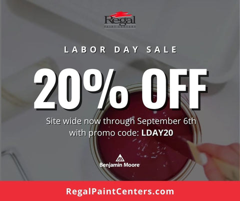 Save 20% OFF ALL PURCHASES online and in-store, now through September 6th!