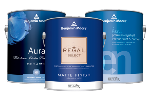Shop Benjamin Moore Interior Paint at Regal Paint Centers in Maryland and Virgina.