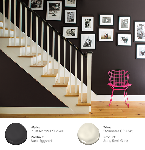 Benjamin Moore Aura paint, available at Regal Paint Centers in MD & VA.