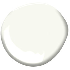 Shop Benjamin Moore's OC-118 Snowfall white paint color online at Regal Paint Centers in MD & VA.
