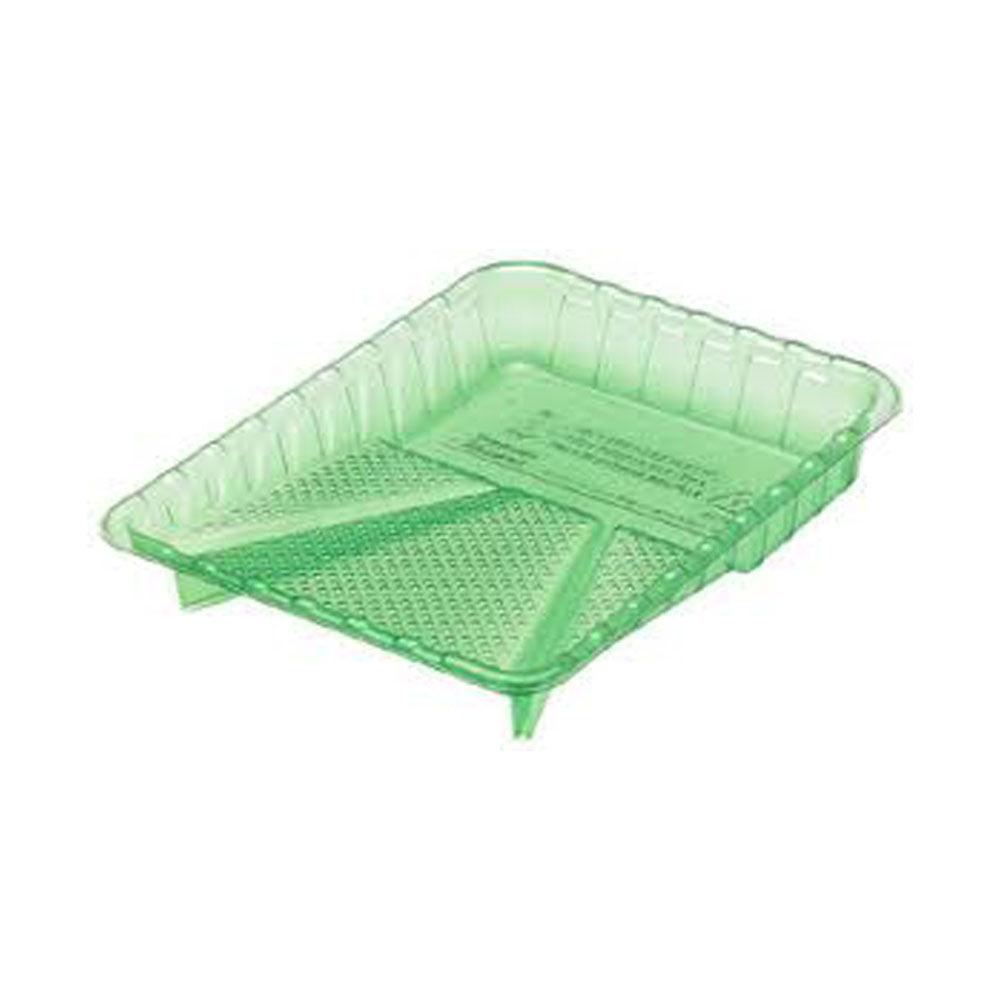 "9"" Green Plastic Tray available at Regal Paint Store"