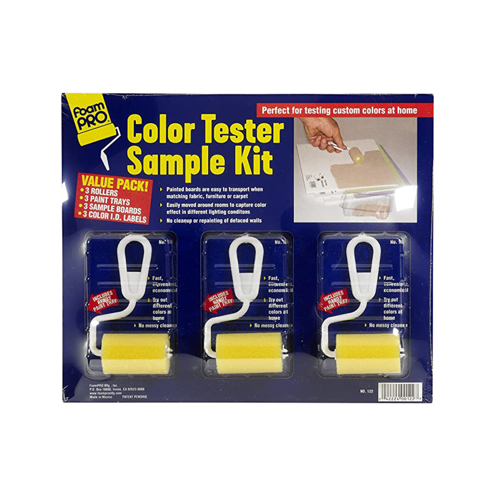 FoamPRO 122 Color Tester Kit