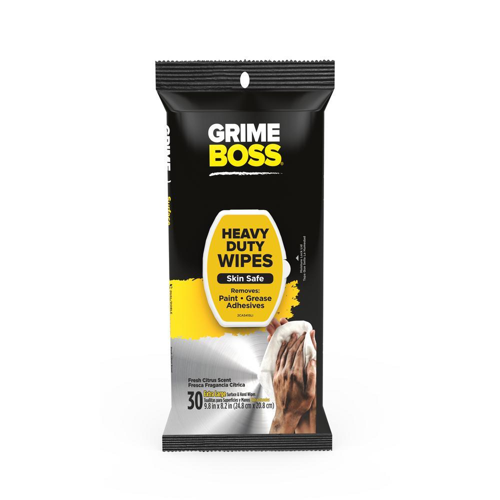 Grime Boss hand wipes, available at Regal Paint Centers in MD.