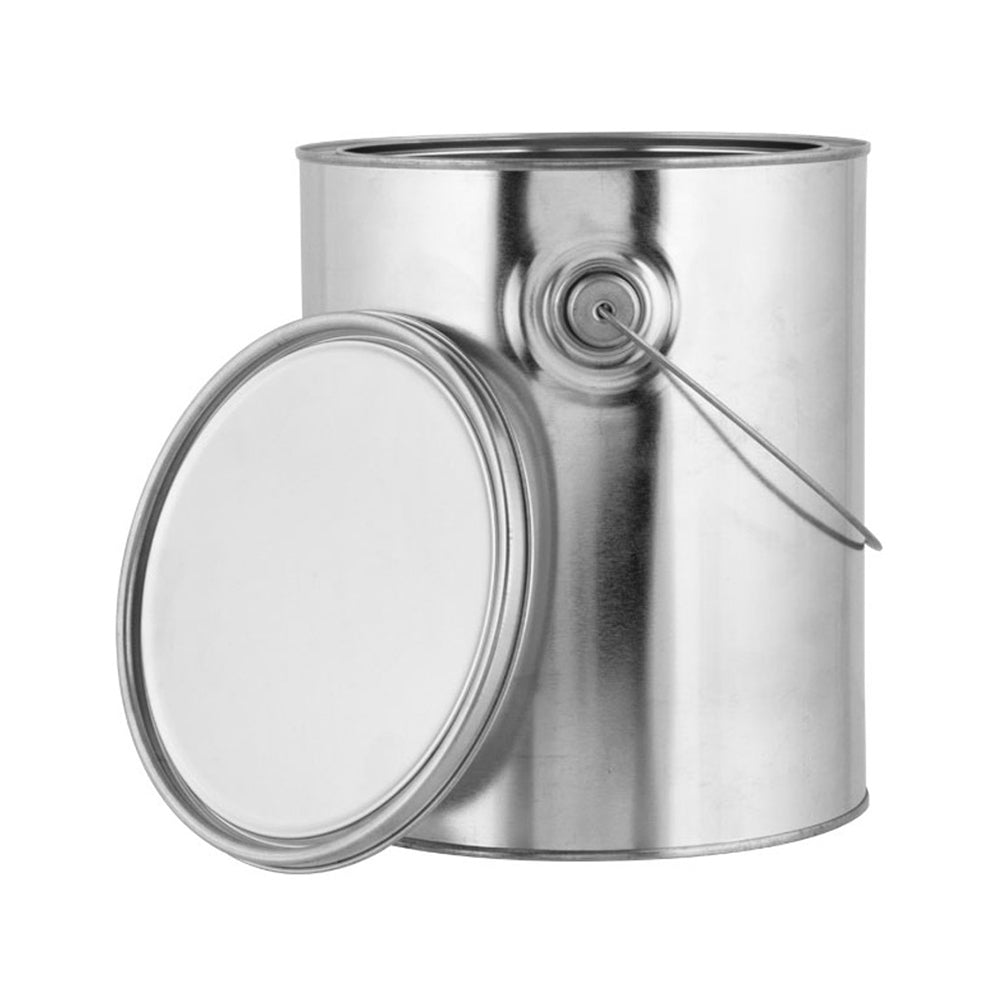 Metal Can with Lid