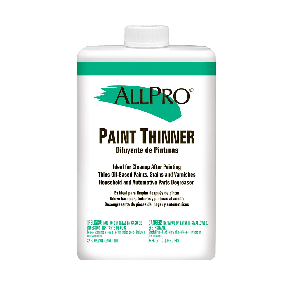 Allpro paint thinner, available at Regal Paint Centers in MD.