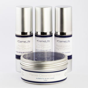 Camel milk skincare face pack