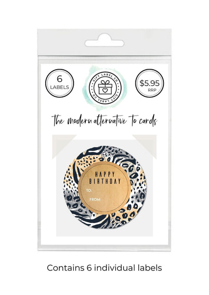 LEOPARD - SET OF 6