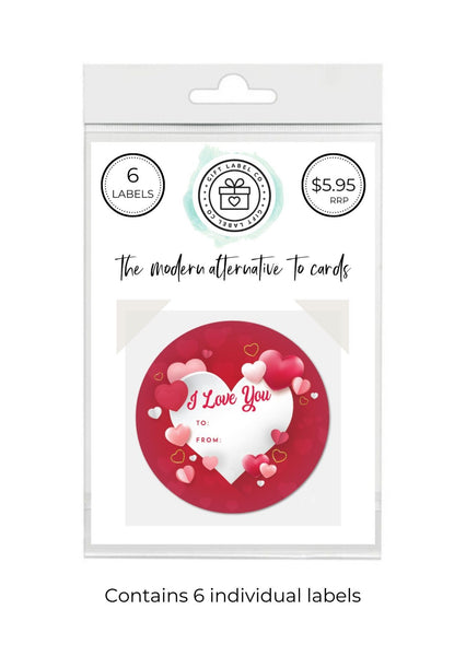 LOVE - SET OF 6