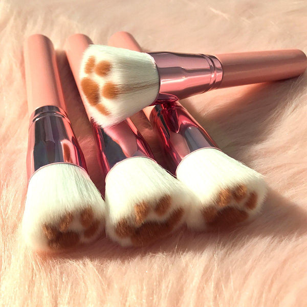 Kitty Paw Brush