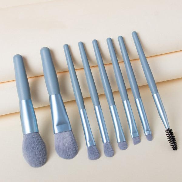 Macaron Blue Mini Brush Set