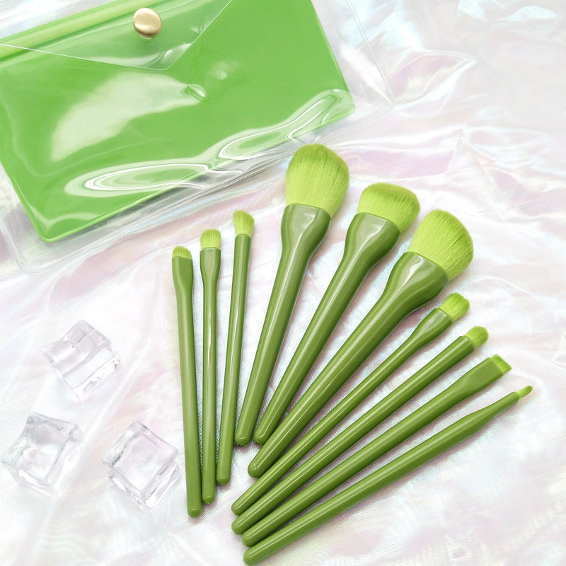Tropical Fruit Makeup Brush Set
