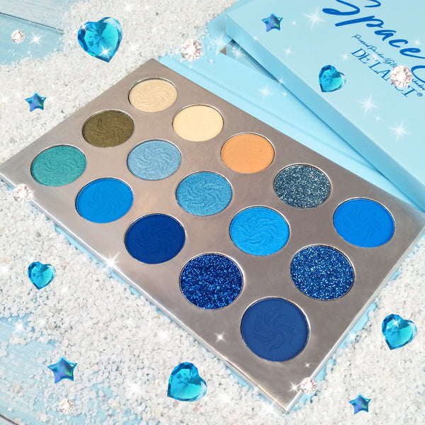 Space Blue Palette