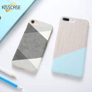 a467c31a191 KISSCASE Simple Marble Phone Case For iPhone 8 7 6 6 s Plus iPhone X XS XR  Cases Ultra Thin Case For iPhone 5 5S SE Cover Fundas