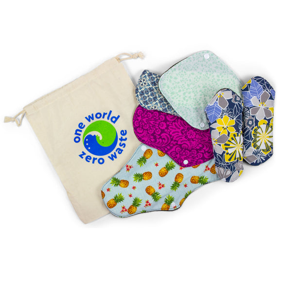 Zero Waste Moon Cycle Pad Starter Bundle