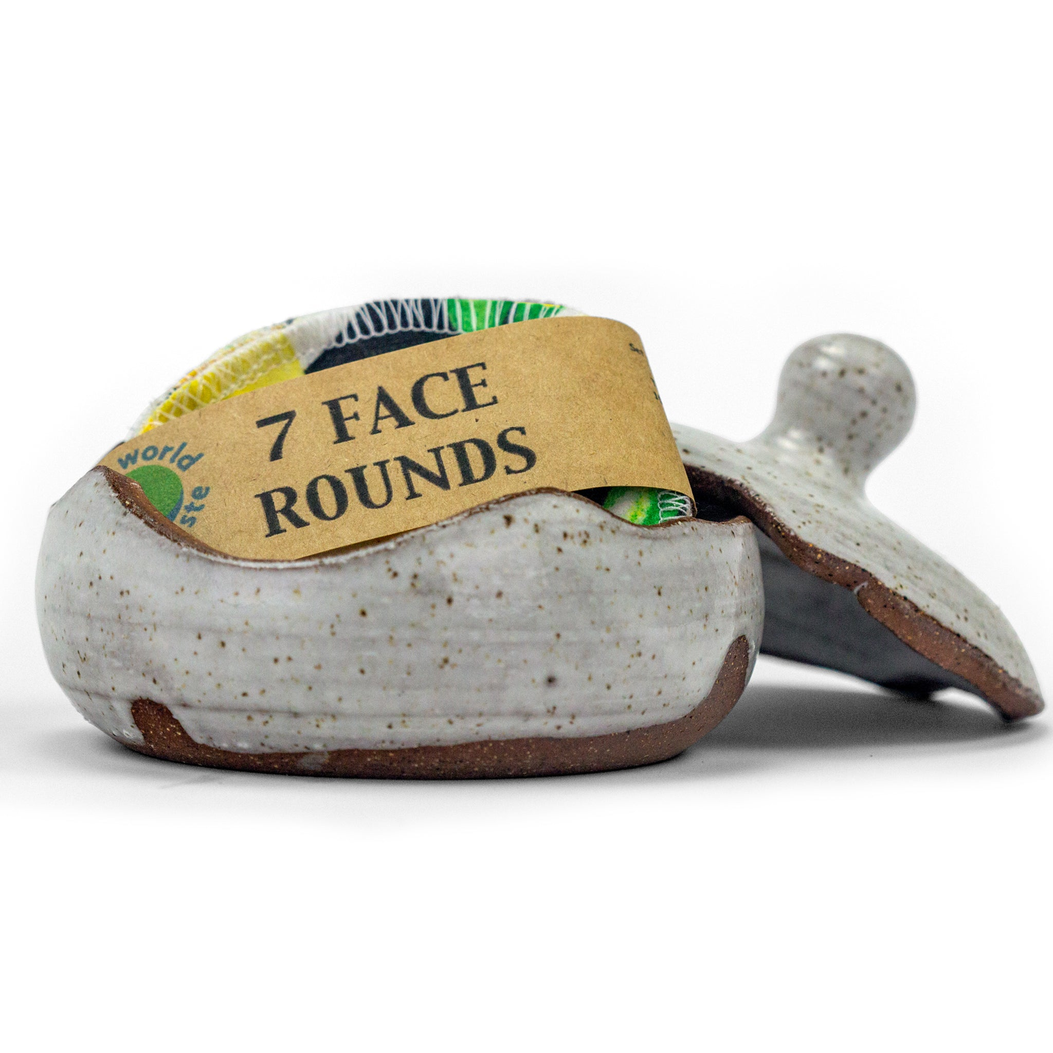 Cotton Face Rounds- 7 Pack in Pretty Patterns