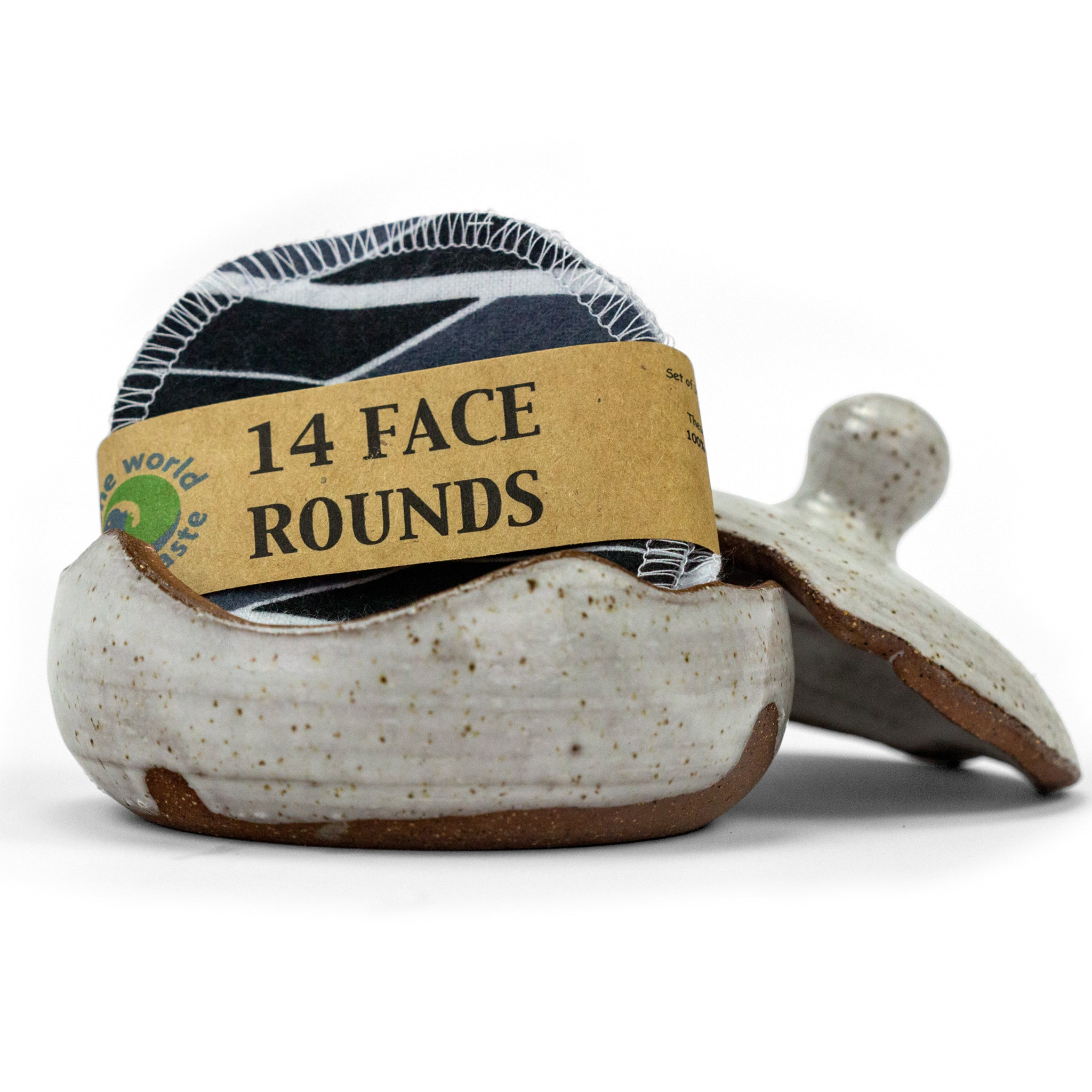 Cotton Face Rounds- 14 Pack in Pretty Patterns