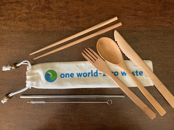 Bamboo Utensil Sets, Always Be Prepared