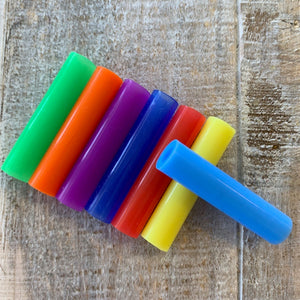 Silicone Straw Tips, Fits on Stainless Straws